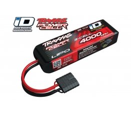 4000mah 11.1v 3-Cell 25C LiPO Battery (iD Plug)