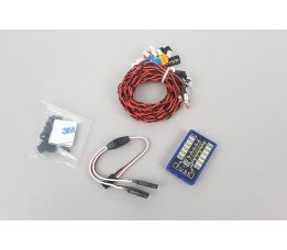 Flashing LED Lighting Kit for 1:10th and 1:18th