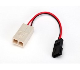 Adapter, Molex to Traxxas receiver battery pack (for charging) (1)