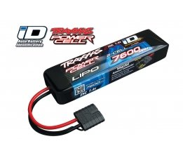 7600mAh 7.4v 2-Cell 25C LiPO Battery (iD Plug)